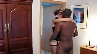 Masked wife and BBC