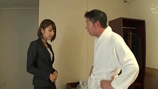 Hot pain in the neck Japanese comprehensive Harusaki Ryou knows how almost pleasure a dick