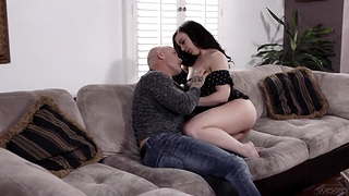 Fat ass and small tits of Whitney Wright drive Derric Pierce crazy