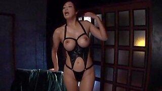 Busty Japanese hottie Kobayakawa Reiko gets pleasured with toys